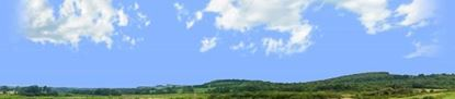 Picture of Appalachian valley landscape left